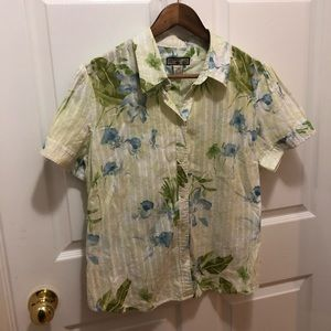 Short sleeve Caribbean joe top